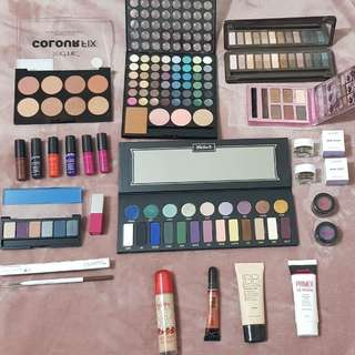 Assorted makeup
