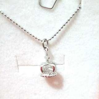 水晶 皇冠 頸鏈 ~免費禮物 (只需 購買兩份 物品 或者 購買物品 滿 $100 以上 就可選一份免費禮物)