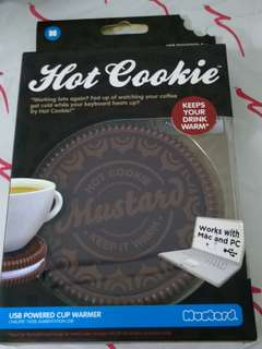 USB Cup Drink warmer cookie shape