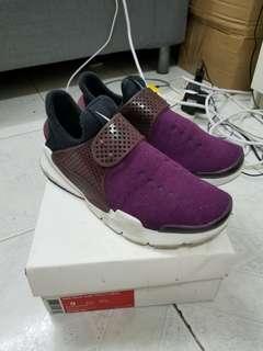 Nike Sock Dart 紫色Tech Fleece特別版 US9