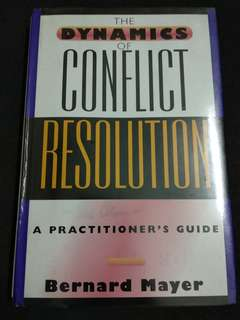 The Dynamics of Conflict Resolution - Bernard Mayer #50Under