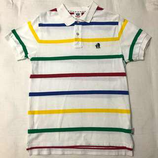 AAPE Multicolour Stripes Polo
