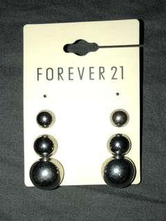 Forever 21 Ball Earrings