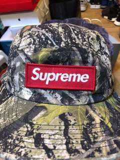 Supreme Camp Cap 樹紋 95%