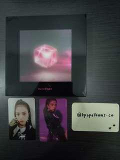 WTS BLACKPINK SQUARE UP BLACK VER