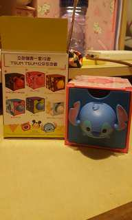Stitch  頭 Disney tsum tsum 7-11 百變組合BOX