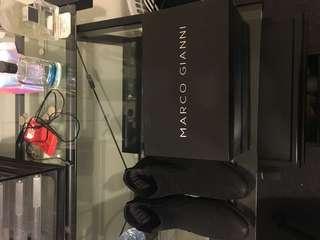 MARCO GIANNI DRESS SHOES BLACK