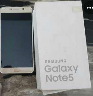 Samsung Note 5 Putih