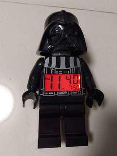 Lego Darth Vader alarm clock 星球大戰黑武士 Star Wars 鬧鐘