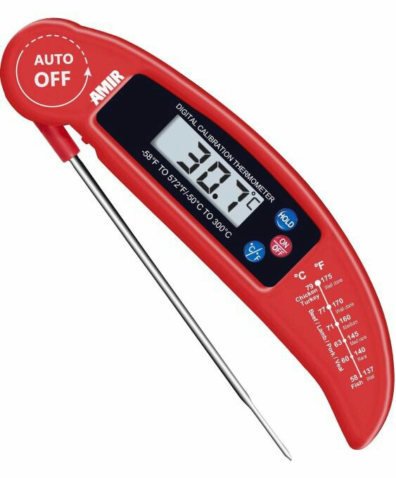 718 Amir Food Thermometer Digital Instant Read Candymeat