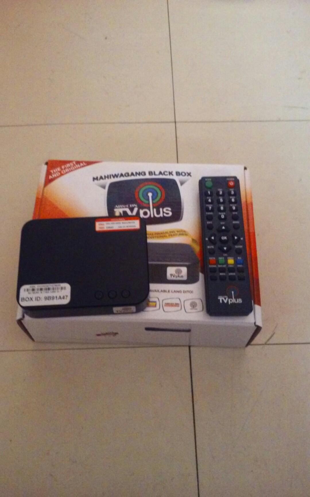 Abs Cbn Tv Plus Black Box Electronics Tvs Entertainment Systems