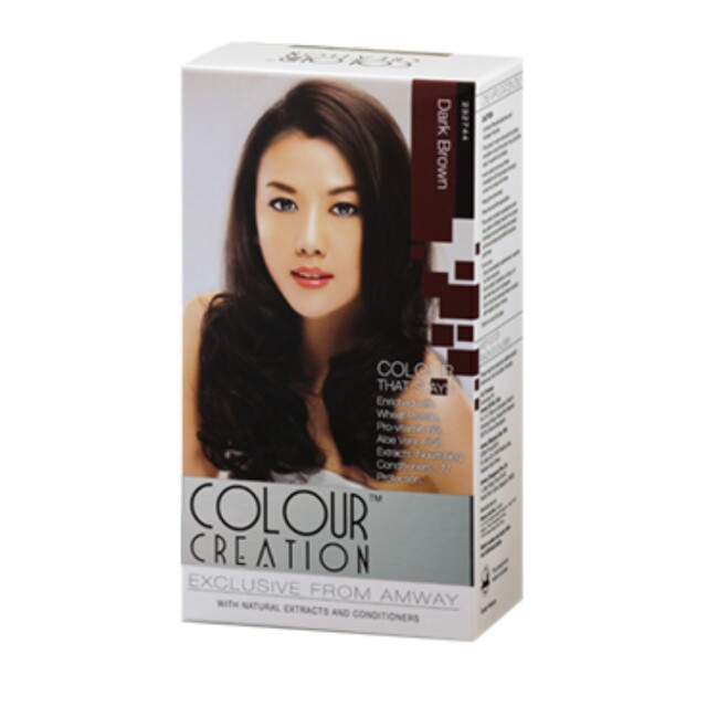 e6db3120a9c AMWAY Hair Color Dye Dark Brown 150ml
