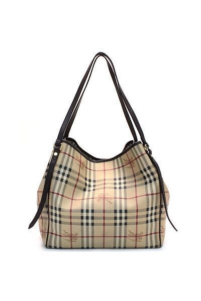 09b5029354a5 Authentic Burberry Haymarket tote