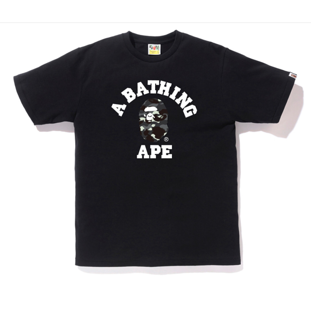ec0ec1c6f BAPE City Camo College Tee, Men's Fashion, Clothes, Tops on Carousell
