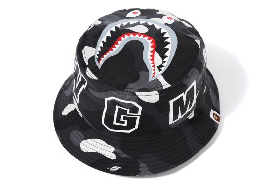 733e0b5f3147 Bape City Camo Shark Bucket Hat   Bape   A Bathing Ape