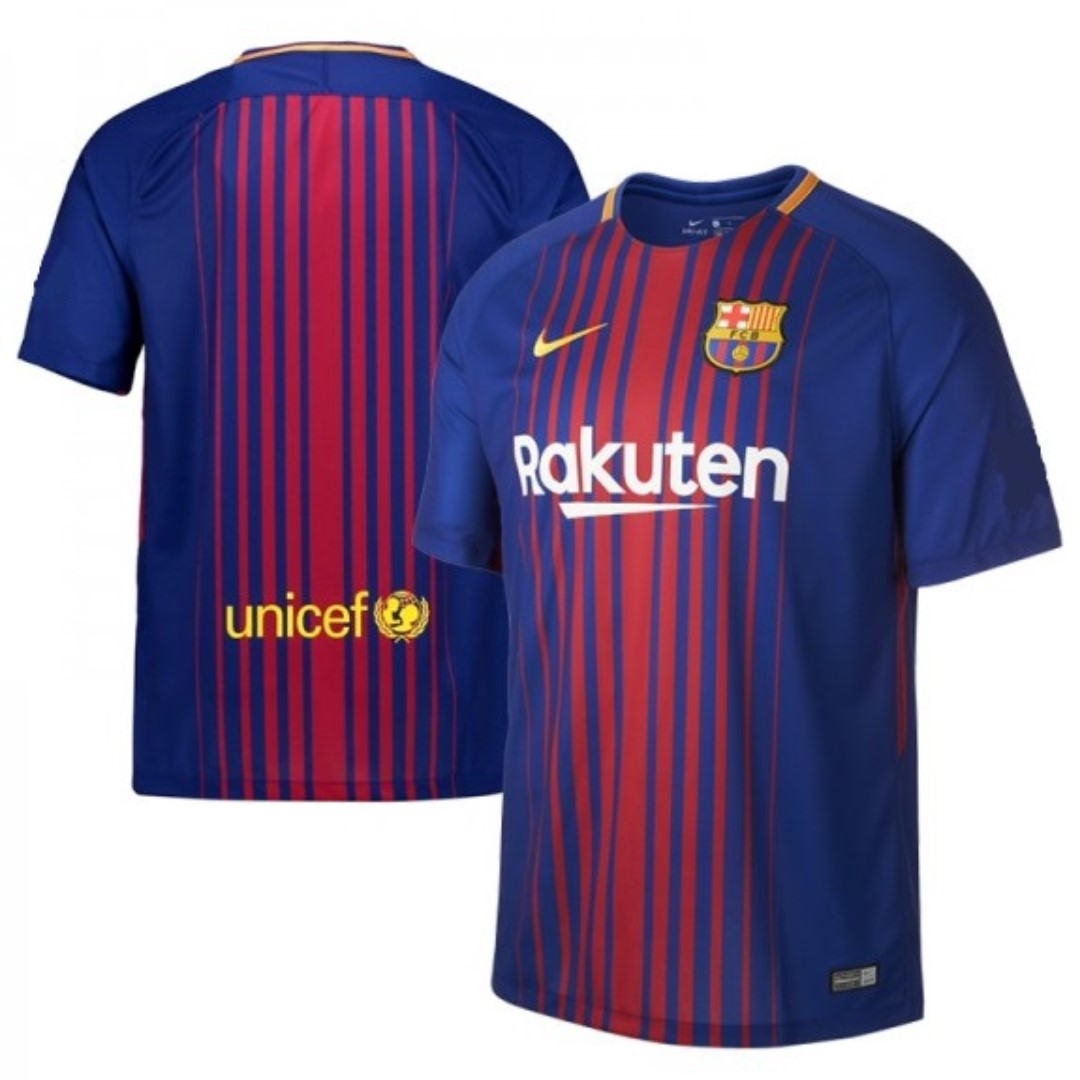 b162fa733 Barcelona Home Kit 17 18 (Size S)