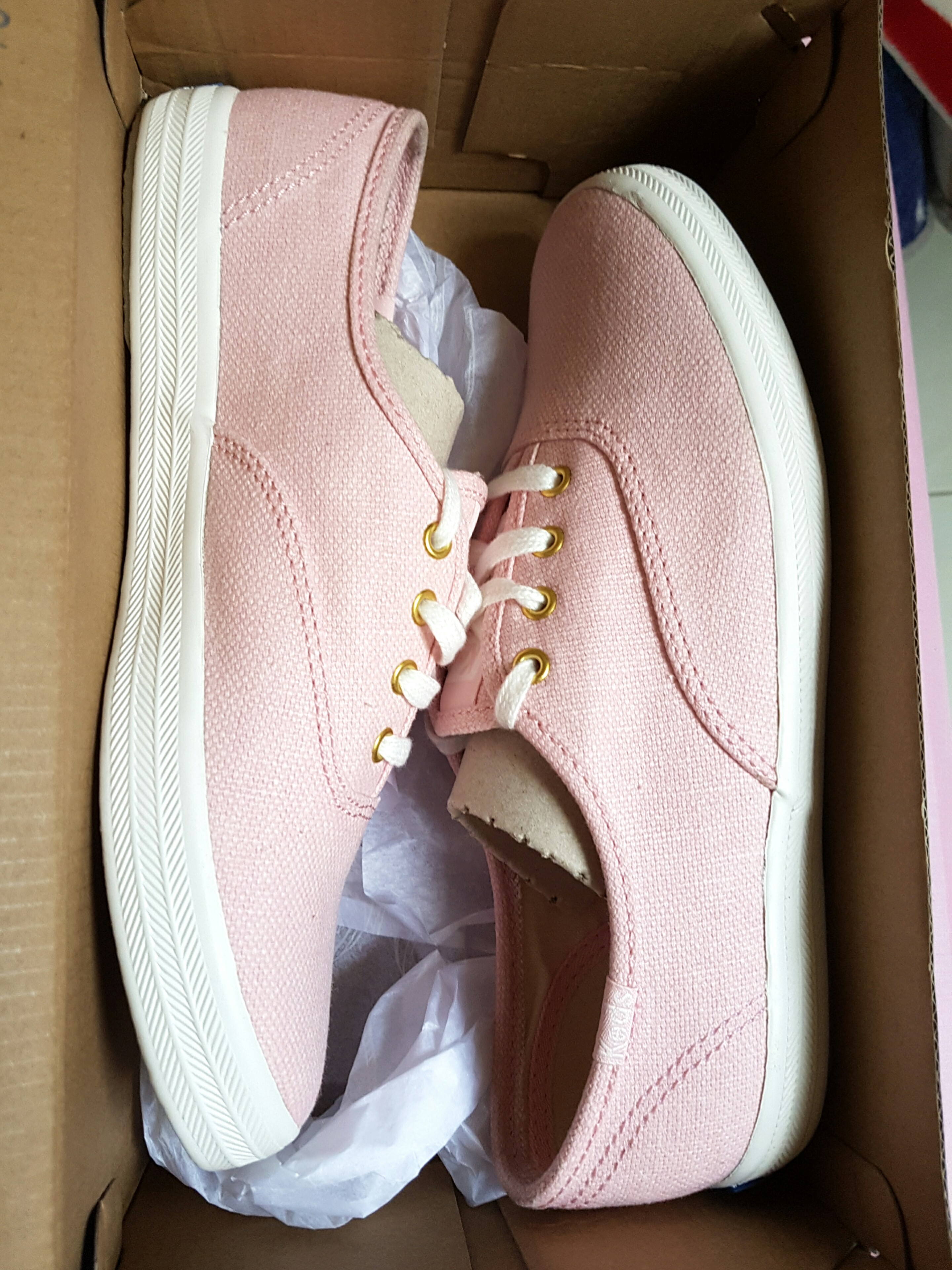 abbbbcdf7748d BN Keds Champion Chalky Rose Sneakers