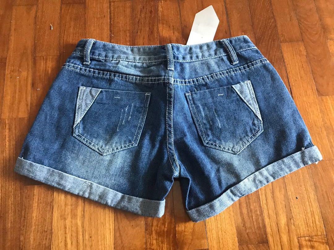 BNWT Blue jean Short