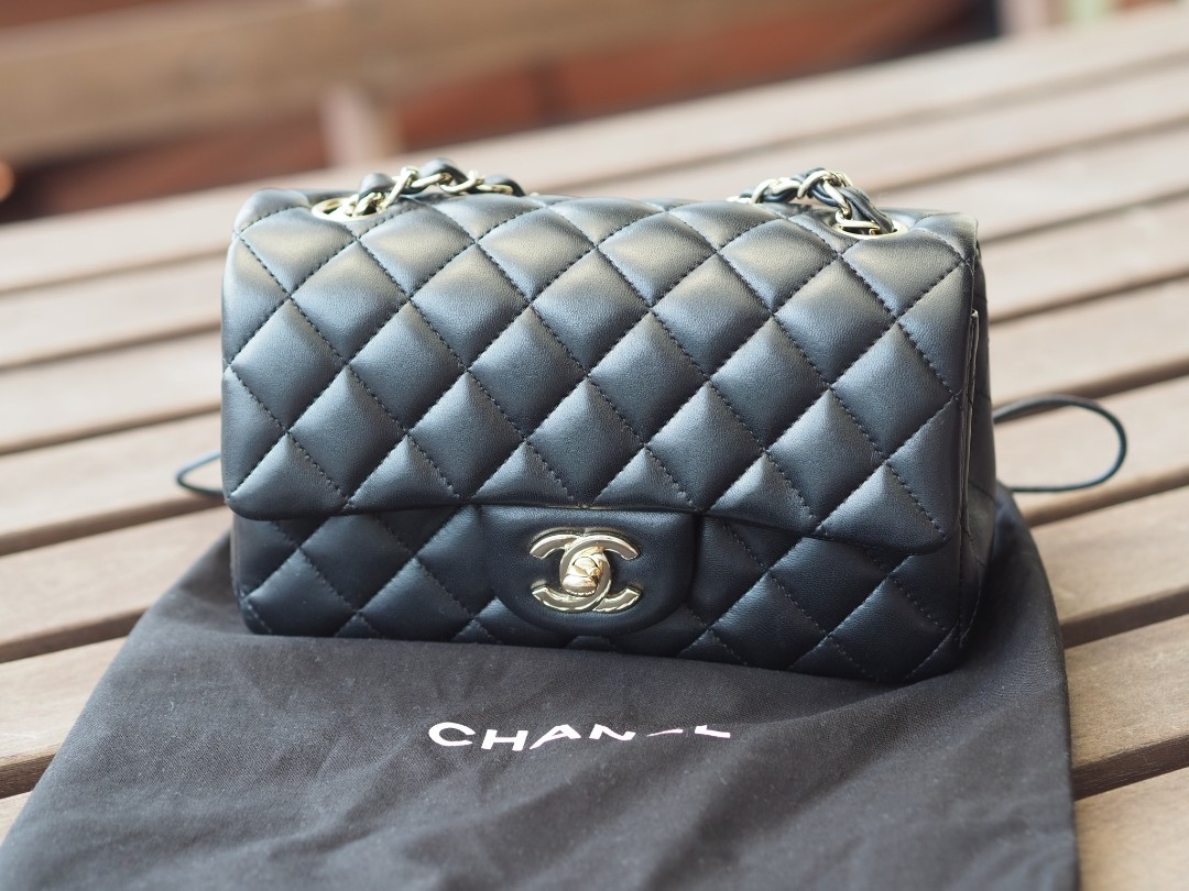 760c2b93e Chanel Mini Rectangular, Luxury, Bags & Wallets, Handbags on Carousell