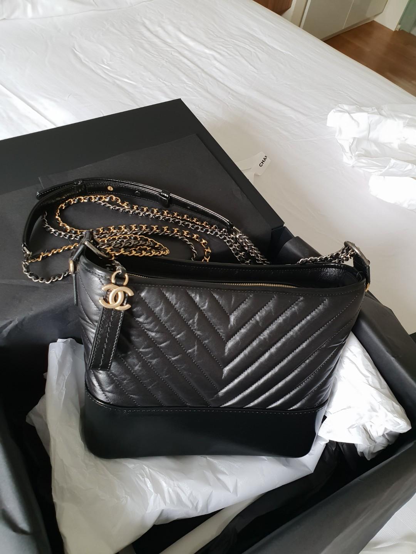 619ebdff99d5ad Chanel's Gabrielle Hobo Bag Chevron, Women's Fashion, Bags & Wallets ...