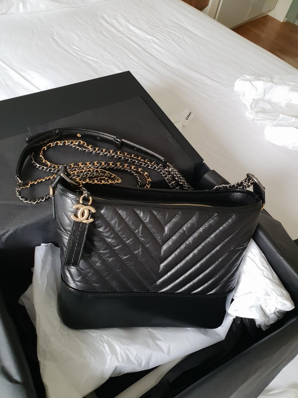 3812644c2b Chanel's Gabrielle Hobo Bag Chevron, Women's Fashion, Bags & Wallets ...