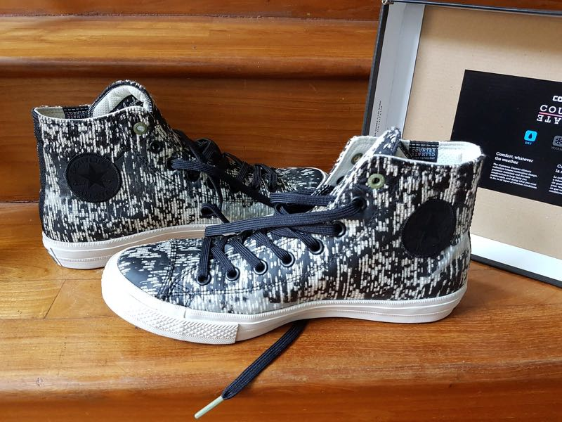 52b282f3f871 Converse Chuck II Counter Climate « Rubber » High Top Sneakers ...