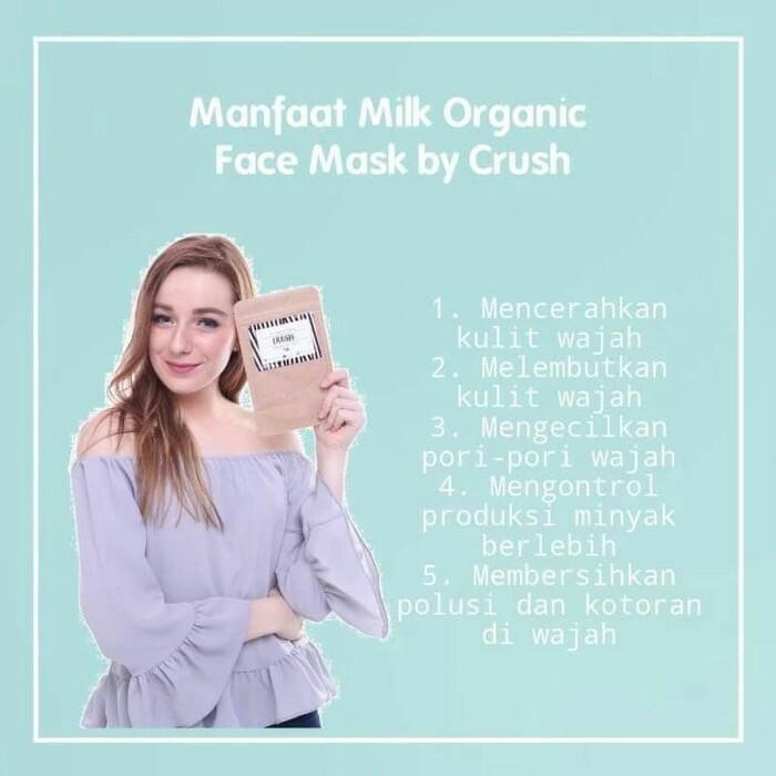 Crushlicious Organic Facemask