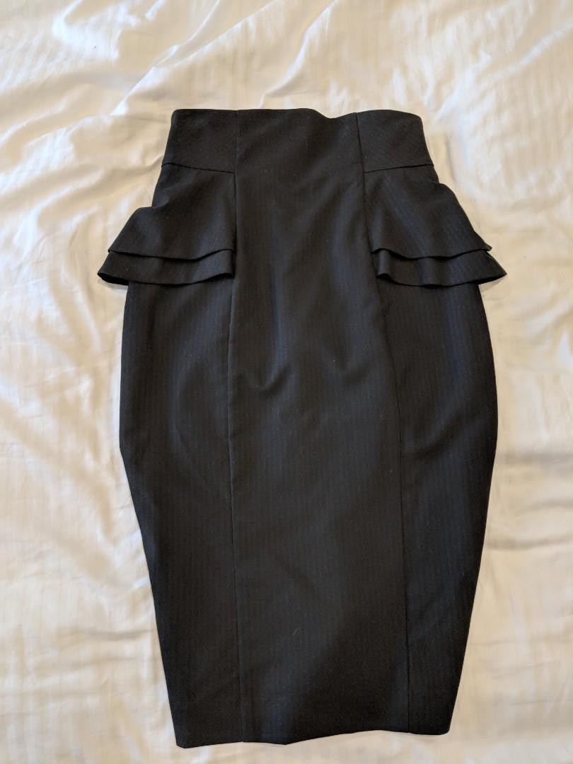 Cue Black Skirt
