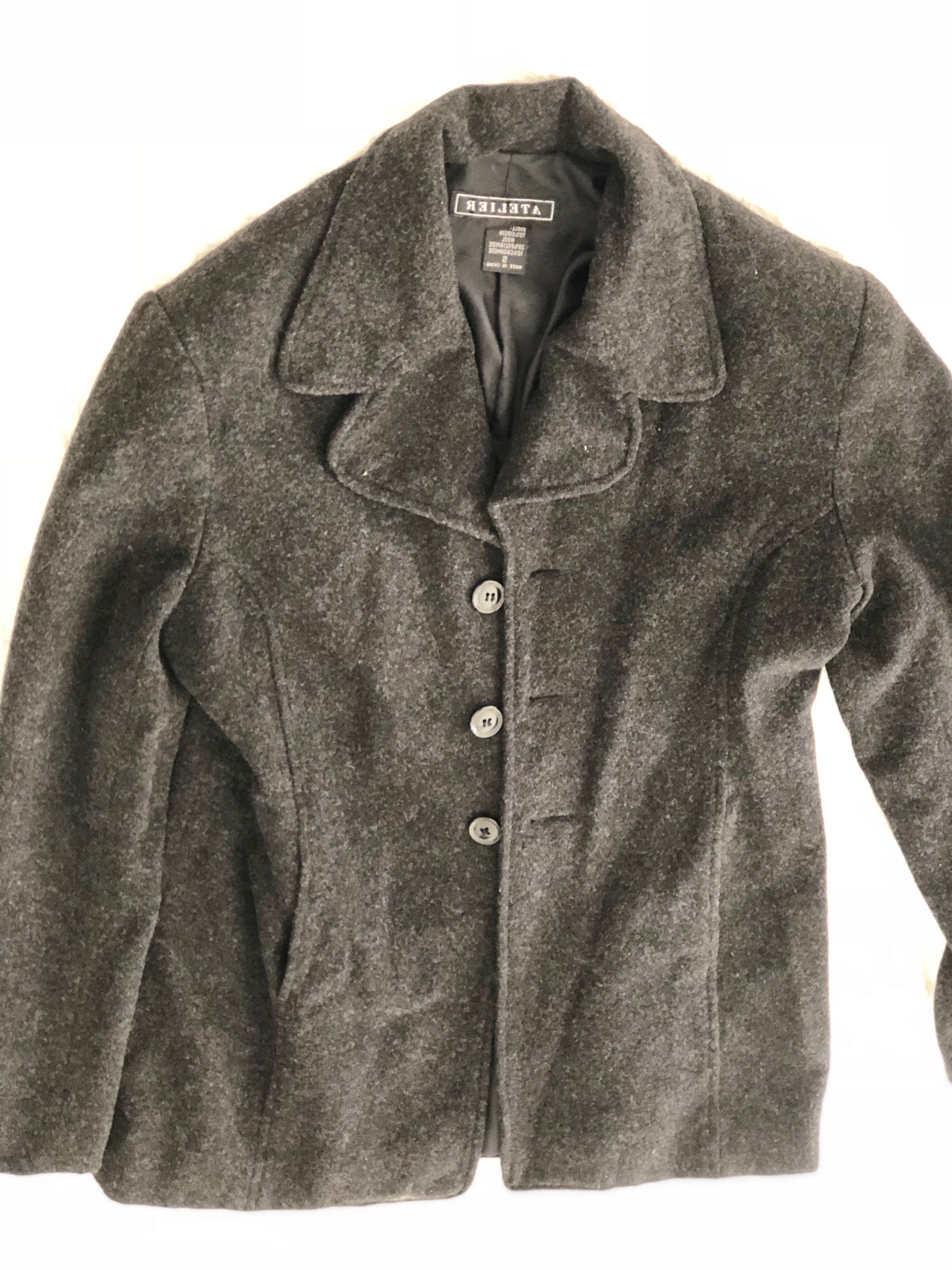 Dark grey jacket size s