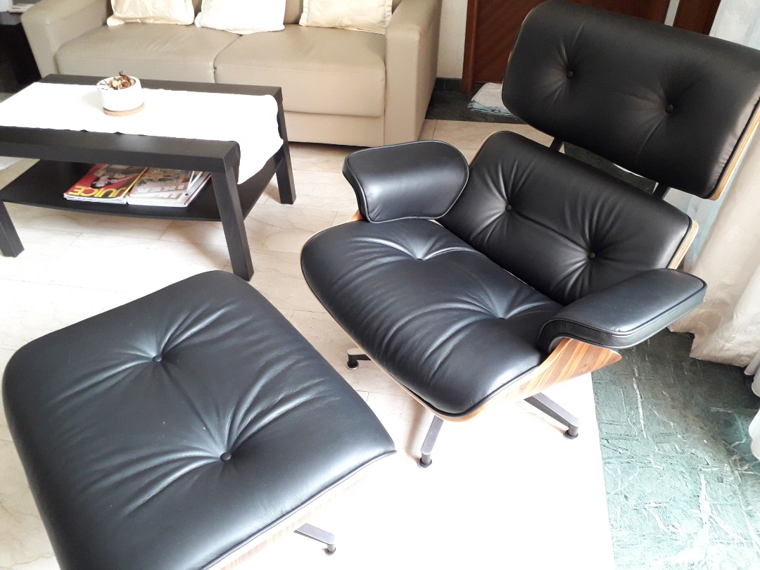 Amazing Eames Lounge Chair With Ottoman Caraccident5 Cool Chair Designs And Ideas Caraccident5Info