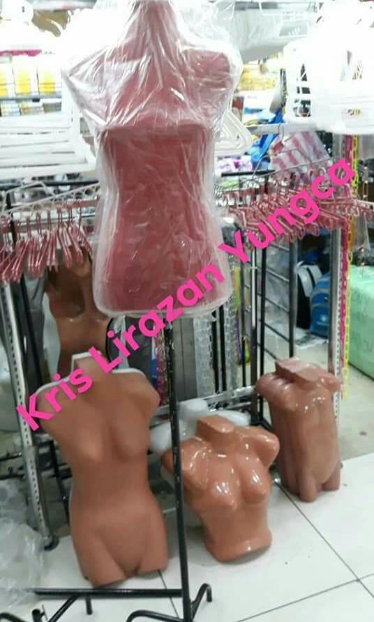 Free shipping Pinnable Mannequin Red