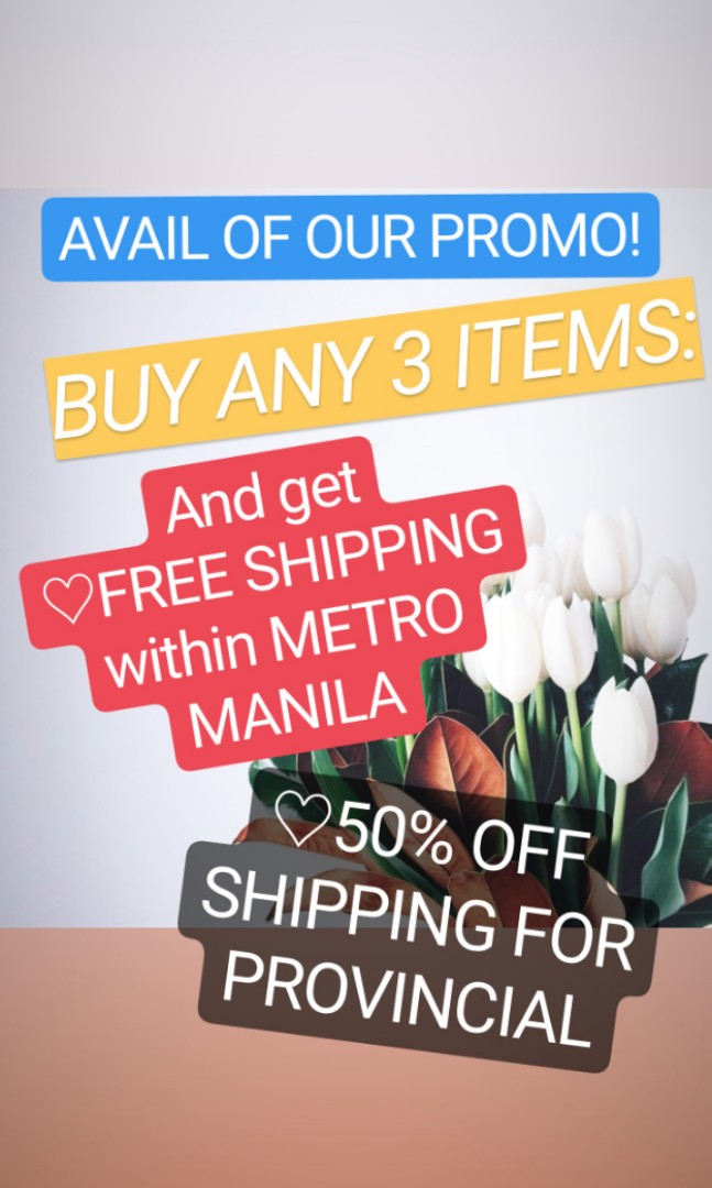 8ea3b93ce0 FREE SHIPPING PROMO!!!, Women's Fashion, Clothes on Carousell