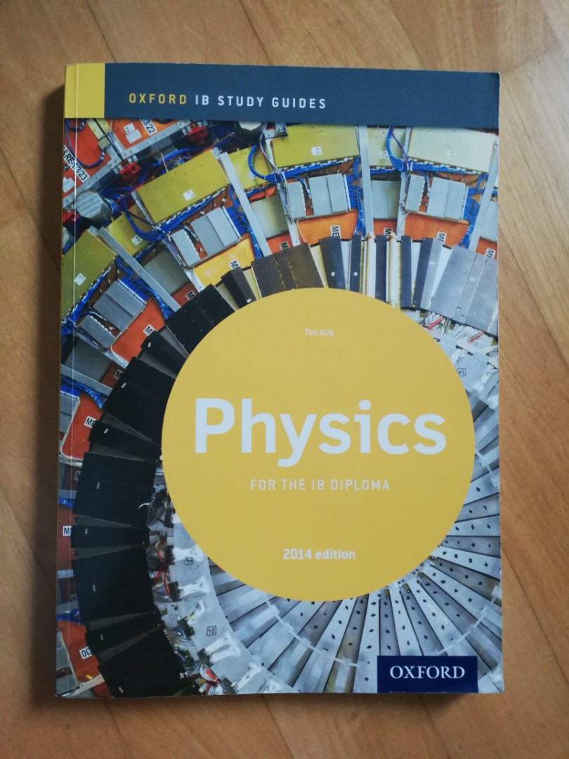 IB Physics Study Guide (Oxford), Books & Stationery, Textbooks, Tertiary on  Carousell