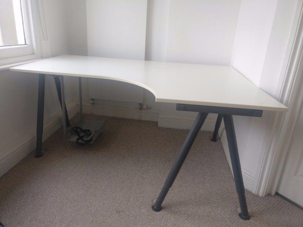 Ikea Galant White Corner Desk