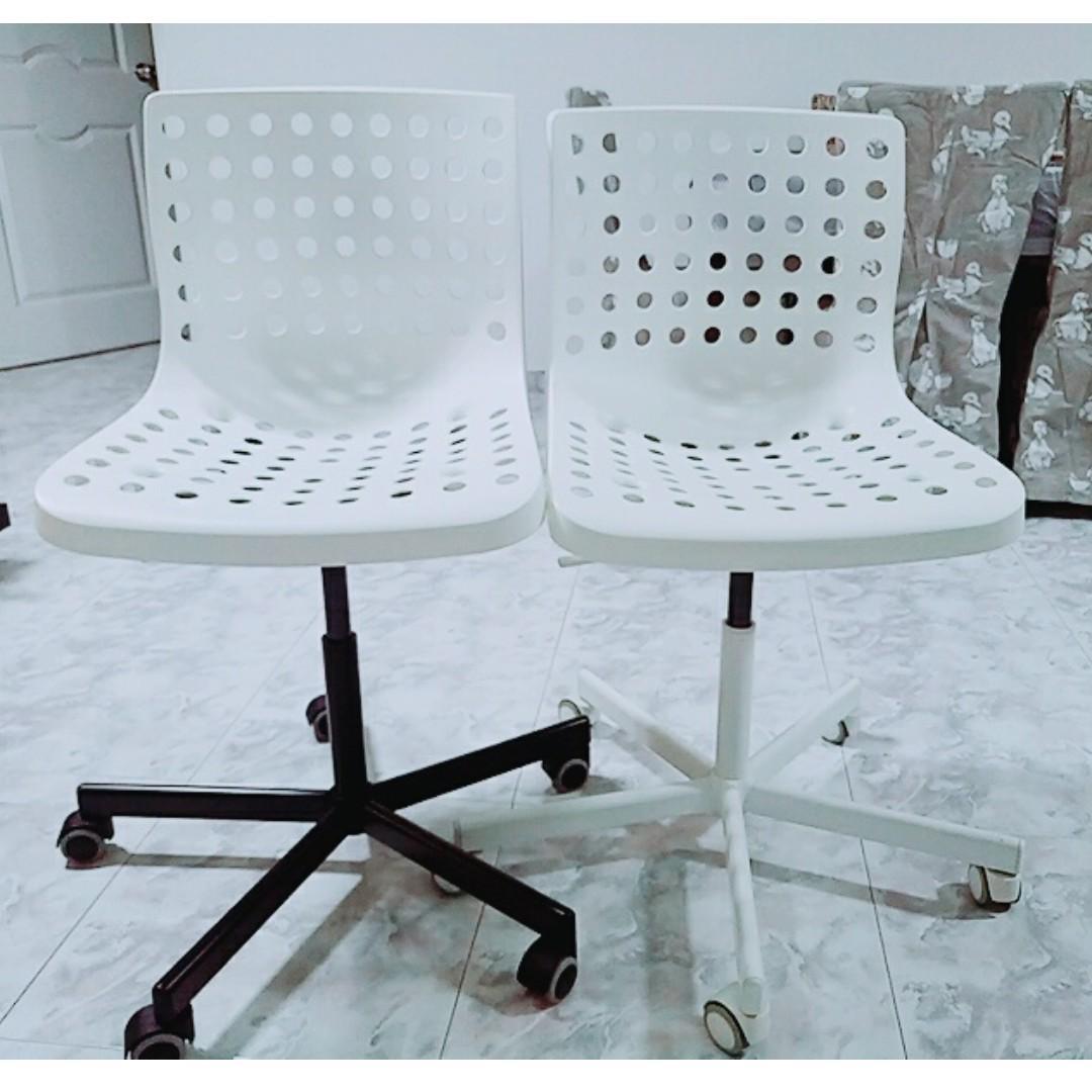 Fabulous Ikea Skalberg Sporren Swivel Desk Chair Skalberg Short Links Chair Design For Home Short Linksinfo