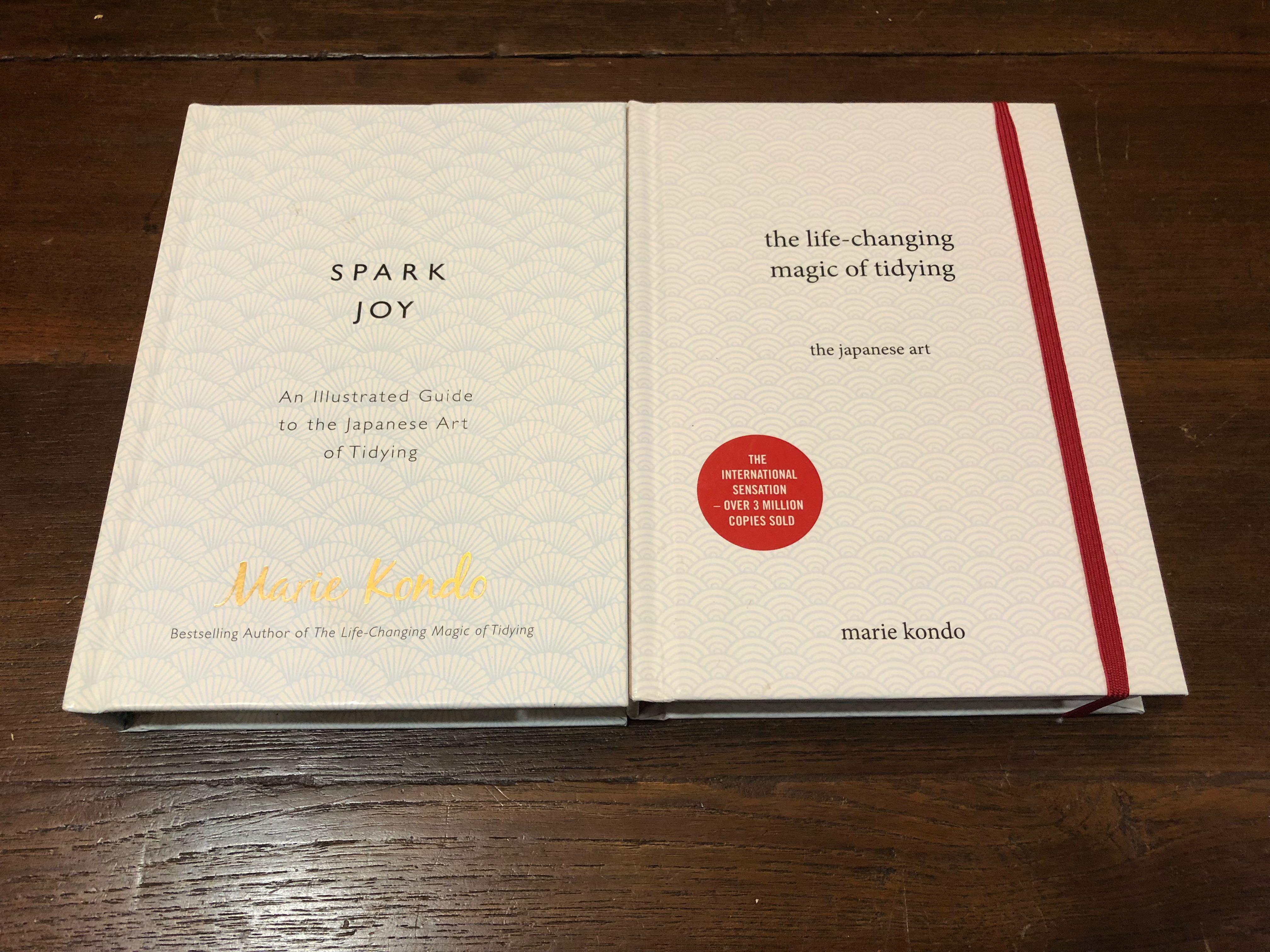 Life changing magic of tidying & Spark joy