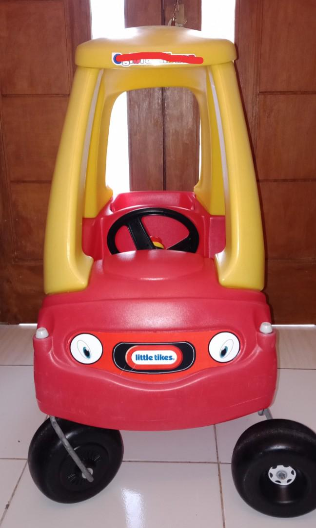 Mainan Mobil Mobilan Mobilan Mainan Mobil Dorong Mainan Mobilan Anak Little Tikes Cozy Coupe Bayi Anak Mainan Baby Walker Di Carousell