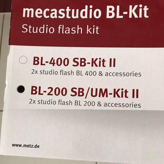 Metz Mecastudio BL-Kit Studio Flash Kit