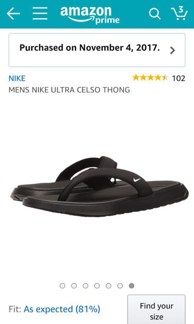ab58fc2c63d127 Nike ultra celso thong