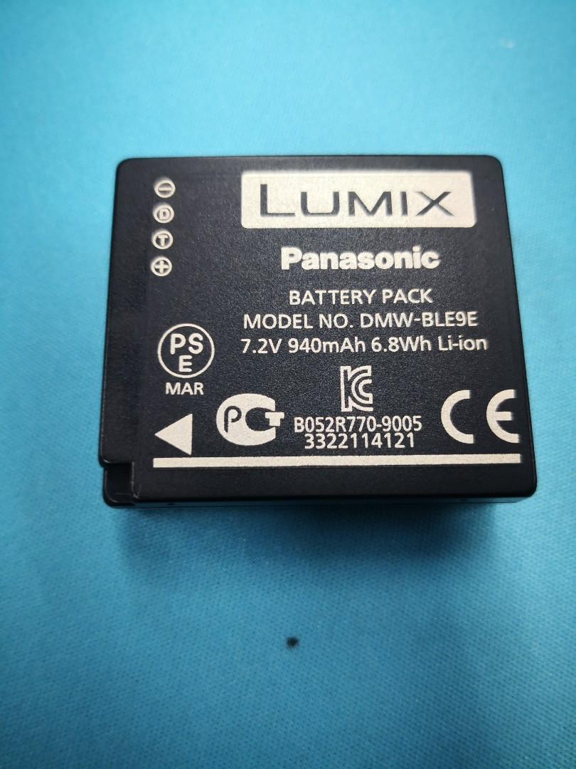 Panasonic DMC-BLE9E battery
