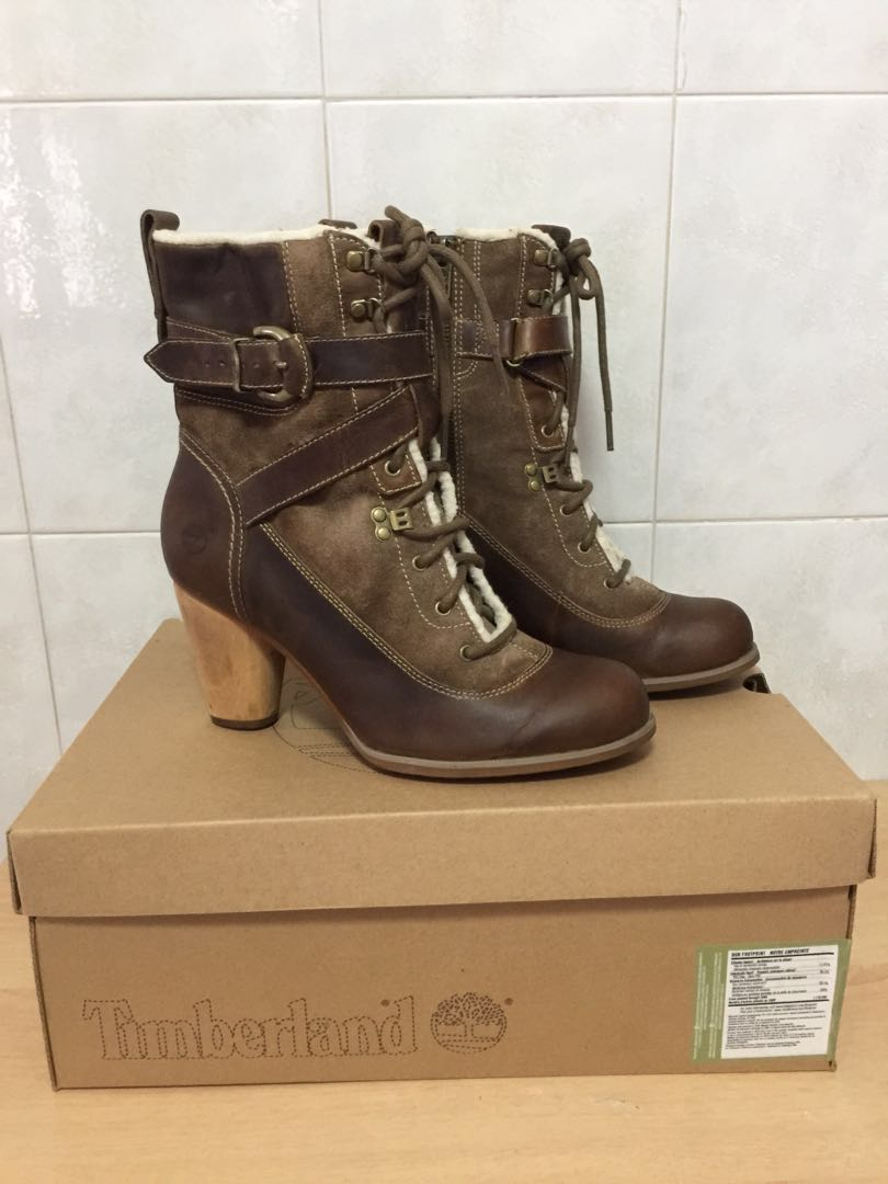 503dea7e150 Timberland Heel Boots (authentic)