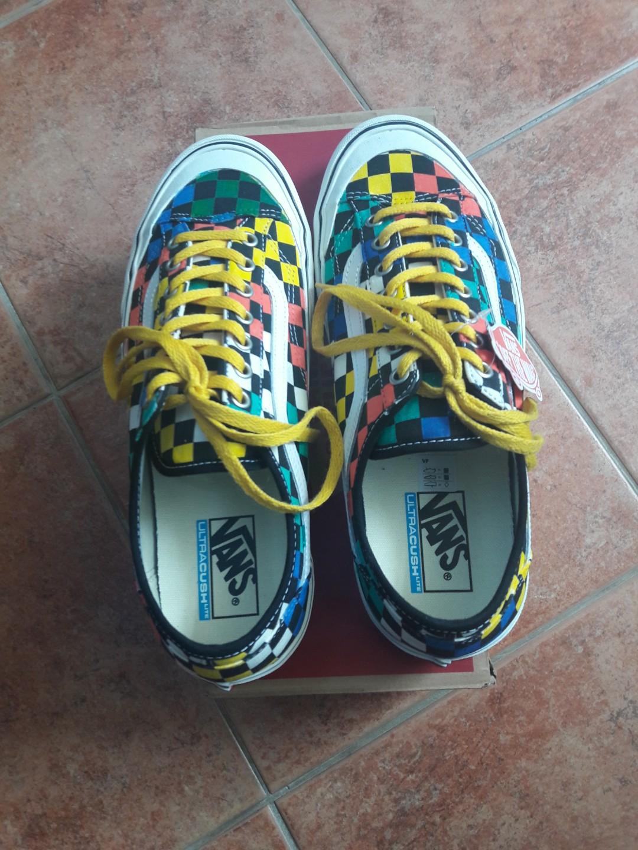 9135c9d3edc0 vans style 36 decon sf checker diy multi color size US10