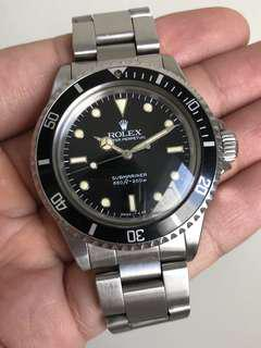 [SALE] - Rolex 5513 Vintage Submariner