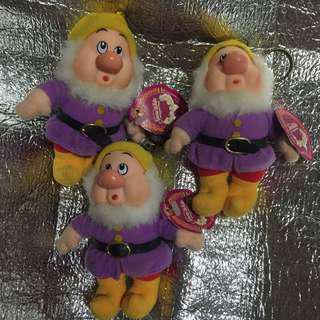 🚚 白雪公主 七矮人 娃娃 吊飾