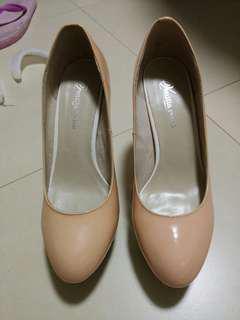Venilla suite 桃紅 高跟鞋 37號 pink high heel