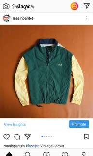 Lacoste Vintage Jacket