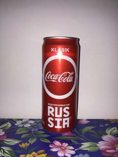 Limited Edition Coca Cola FIFA World Cup 2018