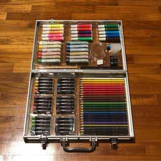 Art Box Luggage Set Colour Pencil Paint Water colour Pen Pencil crayon Marker
