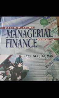 Principles of Managerial finance 8th Edition, Lawrence J Gitman