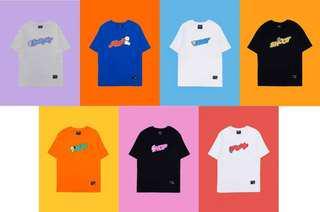 【Korea Buying Service】BTS Line Friends x BT21 Short Sleeve T-shirt